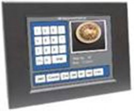 ultraview 12 1 panel mount led with nema4 ip 65 front protection capacitive touch screen and serial controller